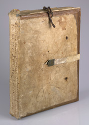 Original Binding, On A Copy Of Jerome's Commentary On Isaiah And Ezekiel